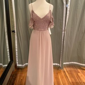 """Theia """"Kyra"""" in Dusty rose size 6"""